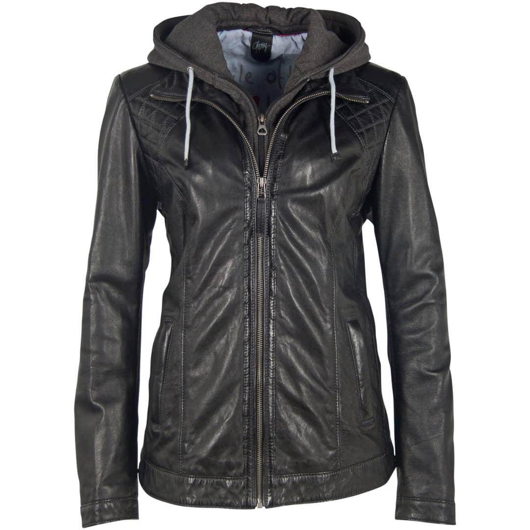 Ženska kožna jakna DEERCRAFT | Skerry