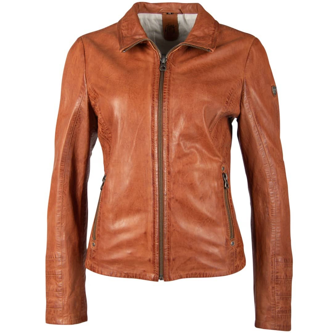 Ladies' leather jacket GIPSY | Evely