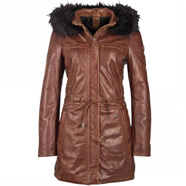 Ladies' leather coat GIPSY | Jayka