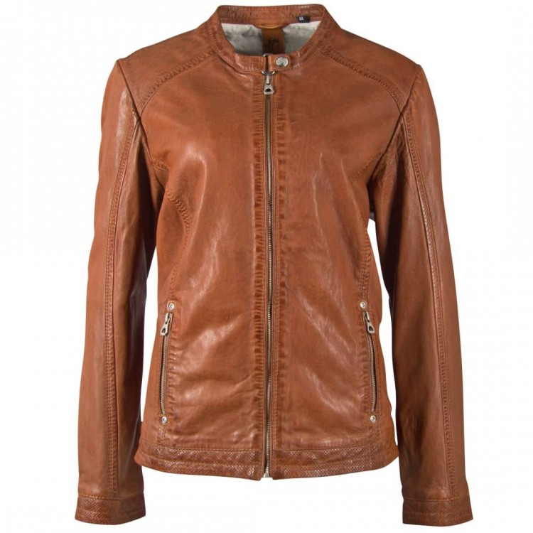 Ladies' leather jacket GIPSY | Jayla