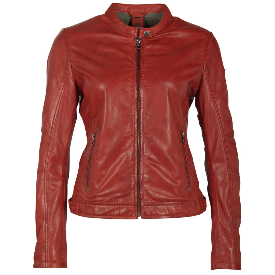 Ladies' leather jacket GIPSY | Mieke