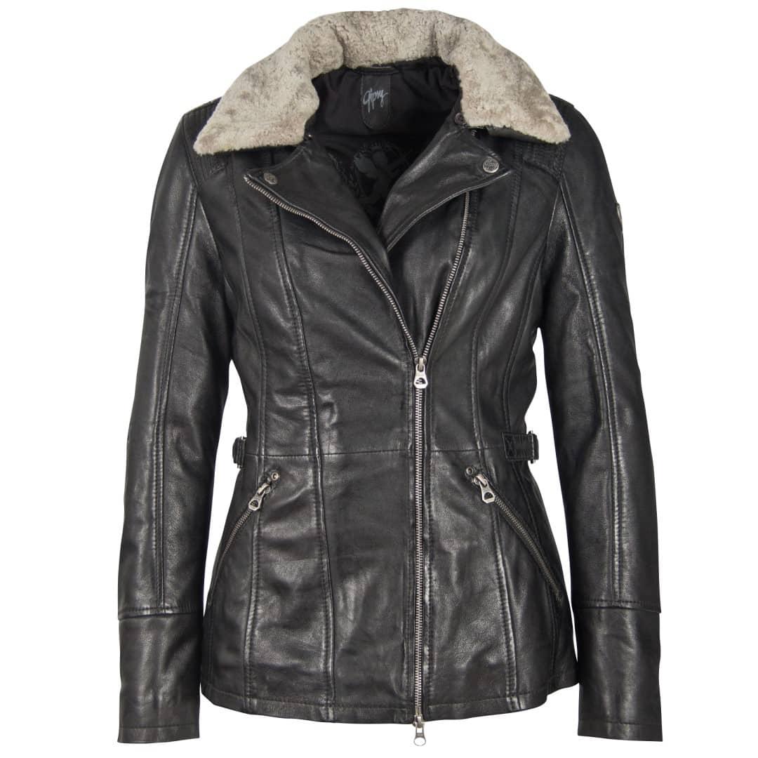 Ladies' leather jacket GIPSY | Sanja