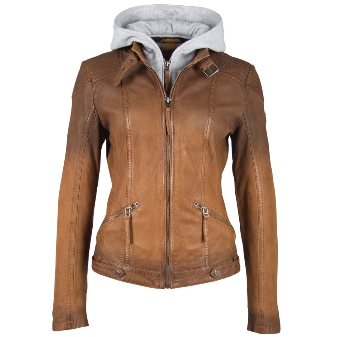 Ladies' leather jacket GIPSY | Tiffy