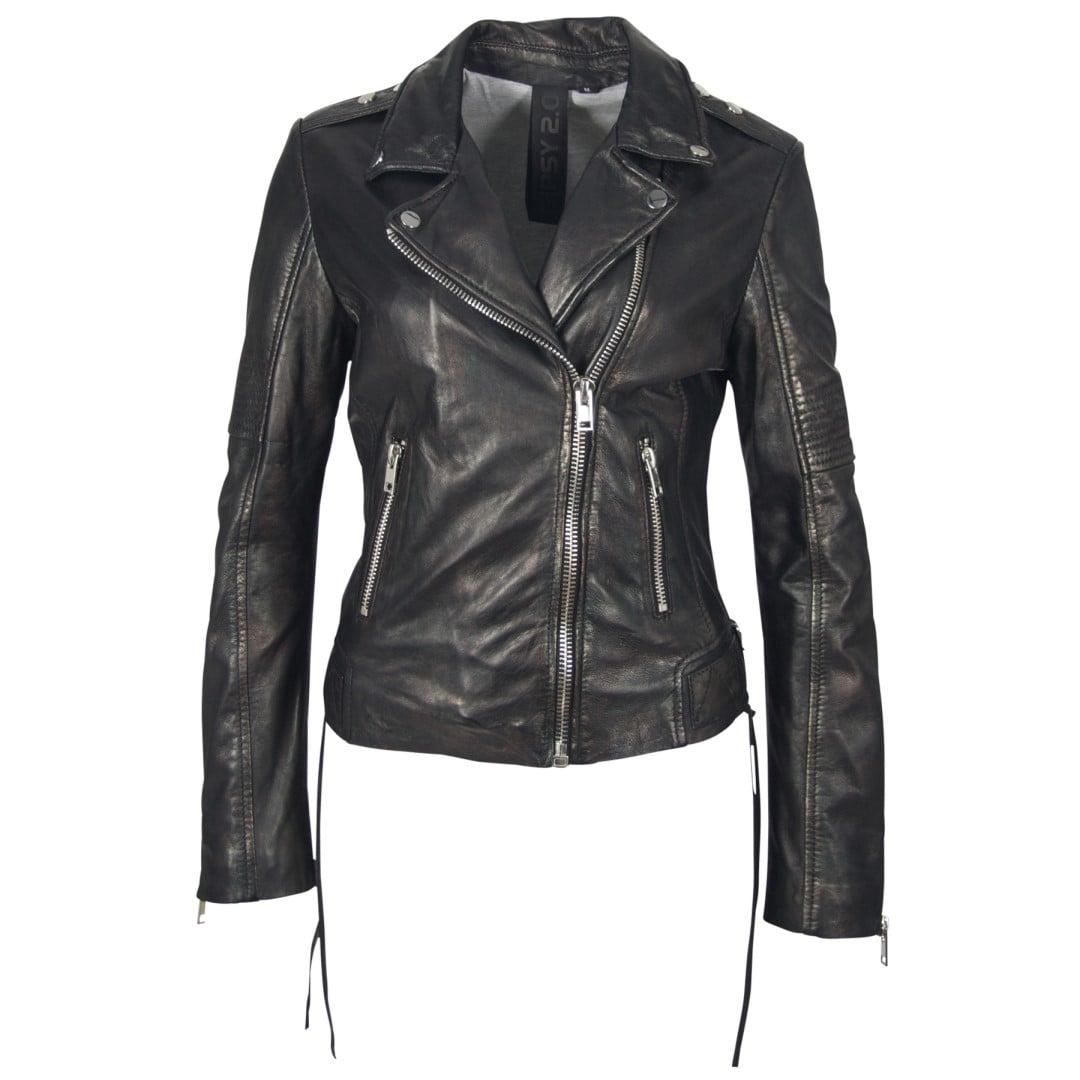 Ladies' leather jacket GIPSY | Wona