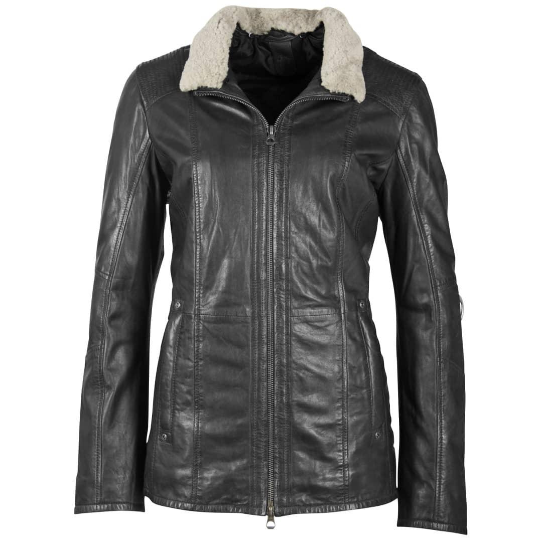 Ženska kožna jakna GIPSY | Yda