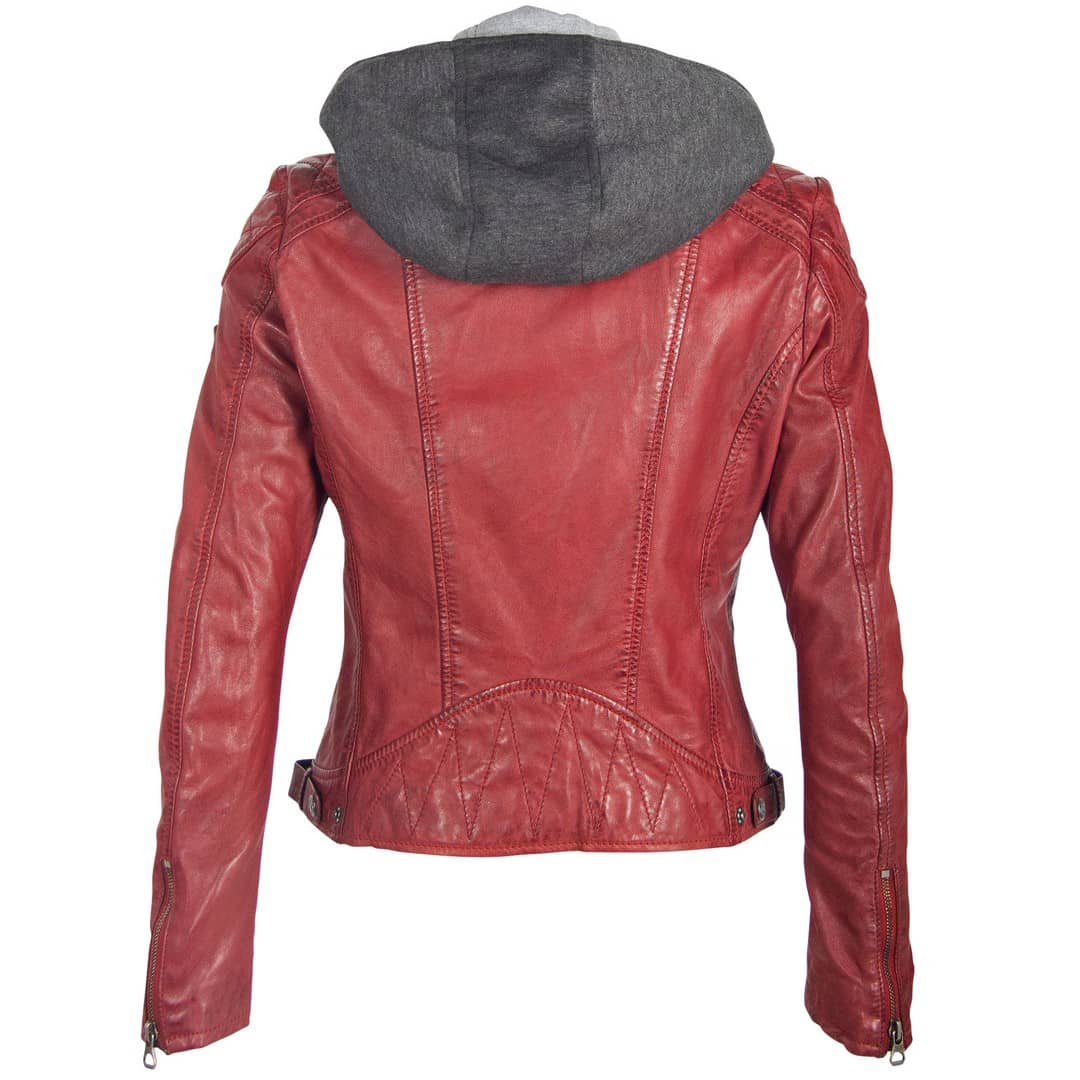 Ladies' leather jacket GIPSY | Abby