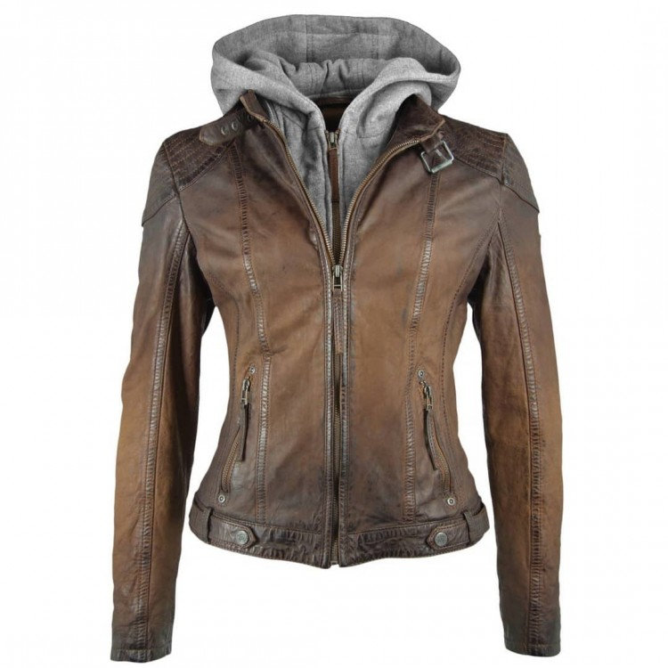 Ladies' leather jacket GIPSY | Cascha