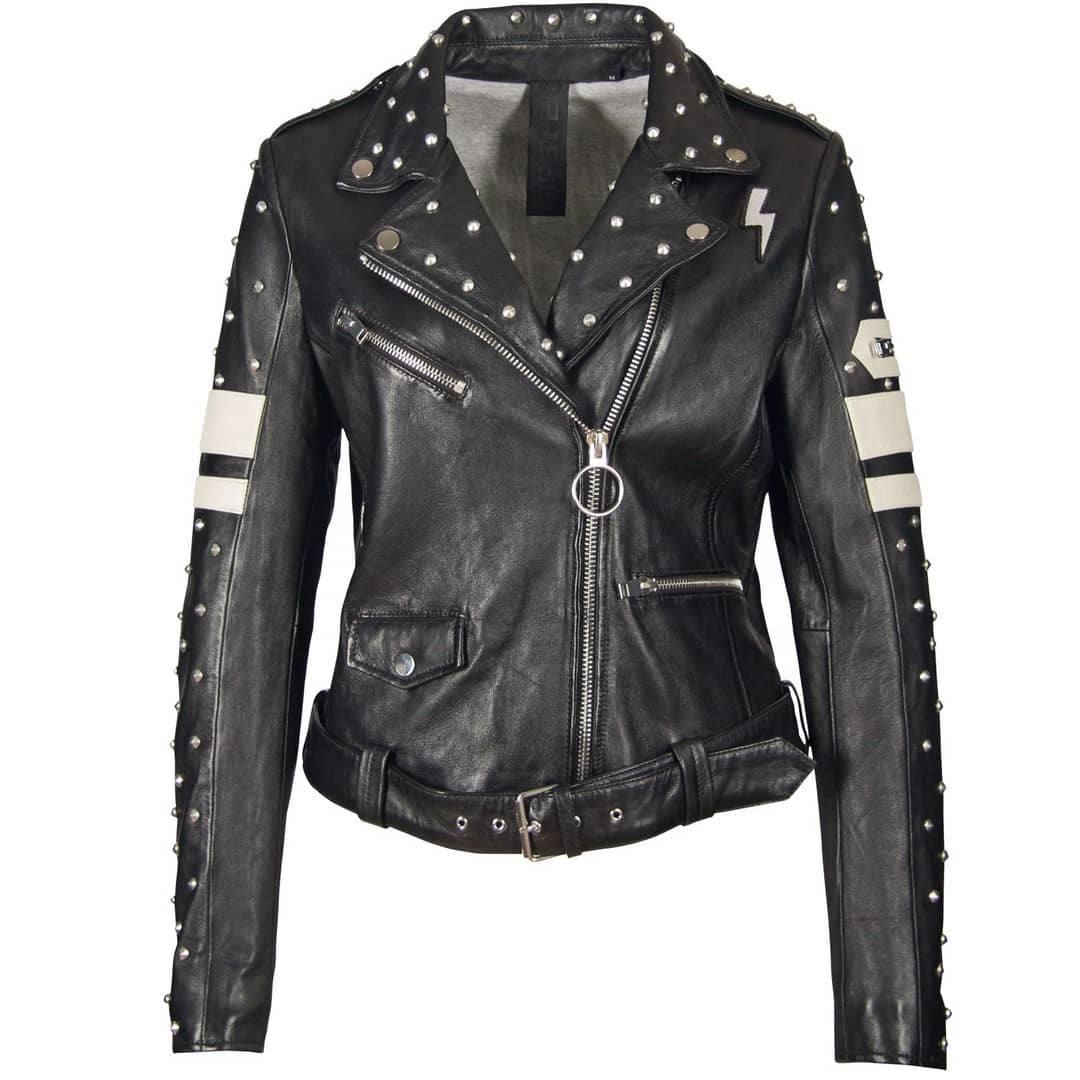Ladies' leather jacket GIPSY | Devil