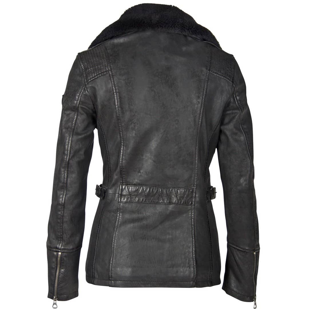 Women's leather jacket GIPSY | Sallie