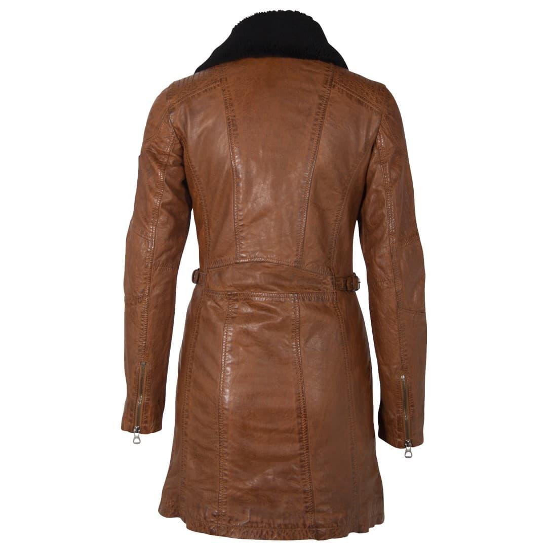 Ladies' leather coat GIPSY | Scylla