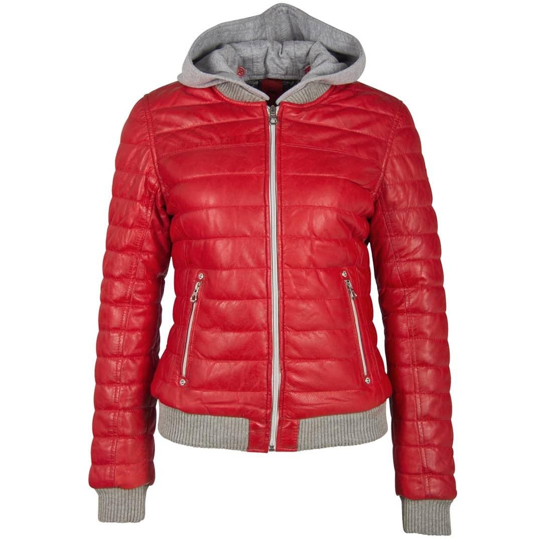 Women's leather jacket GIPSY | Sveja