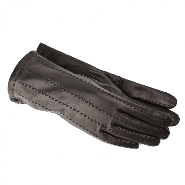 Women leather gloves Optimist | 2-4443