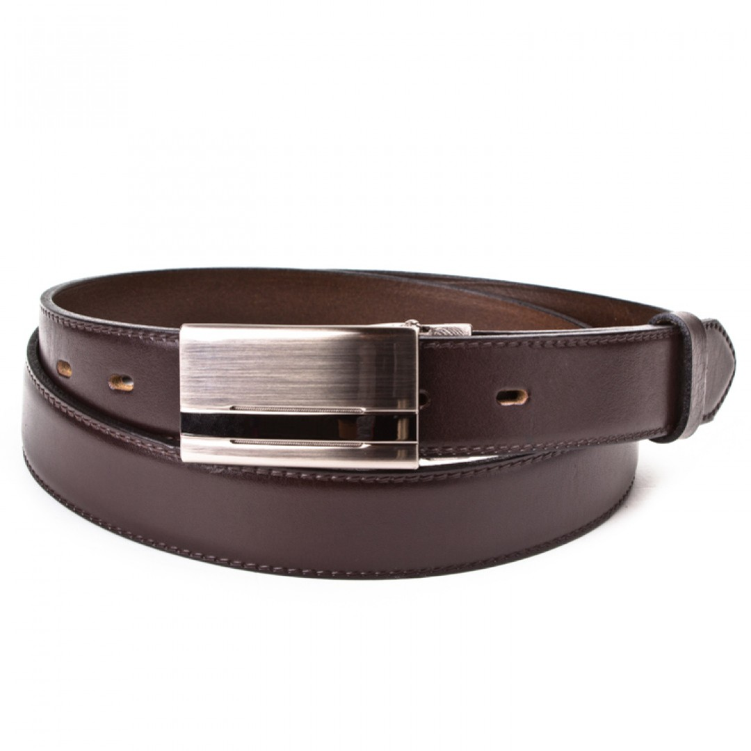 Leather belt ELEGANT men Optimist | 30-020-1PS