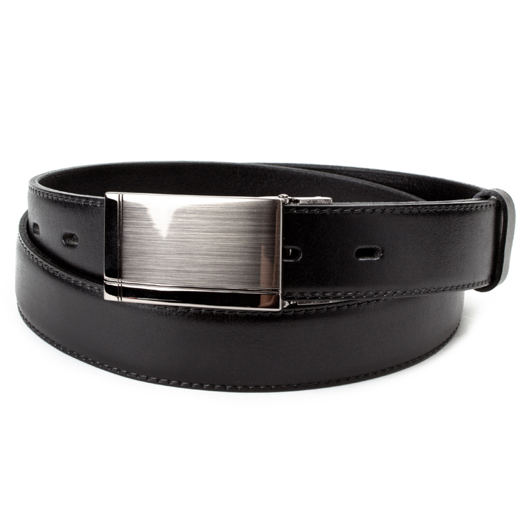 Leather belt ELEGANT men Optimist | 30-020-2PS