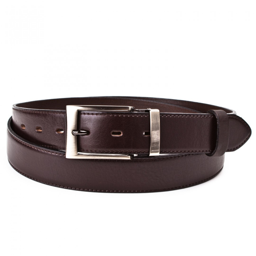 Leather belt ELEGANT herren Optimist | 35-020-2
