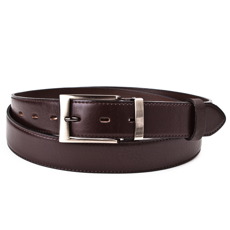 Leather belt ELEGANT men Optimist | 35-020-2
