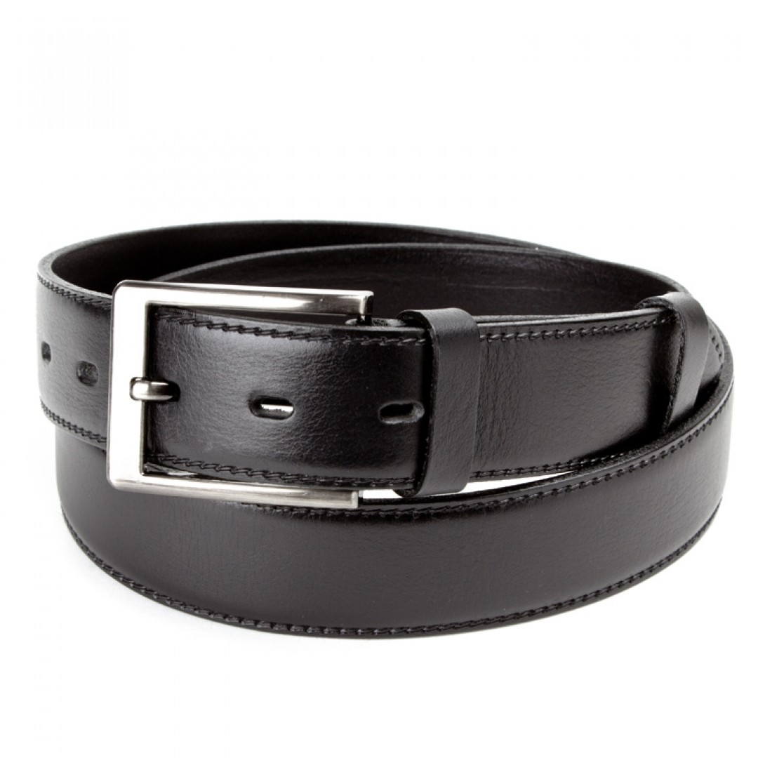 Leather belt ELEGANT men Optimist | 35-020-4