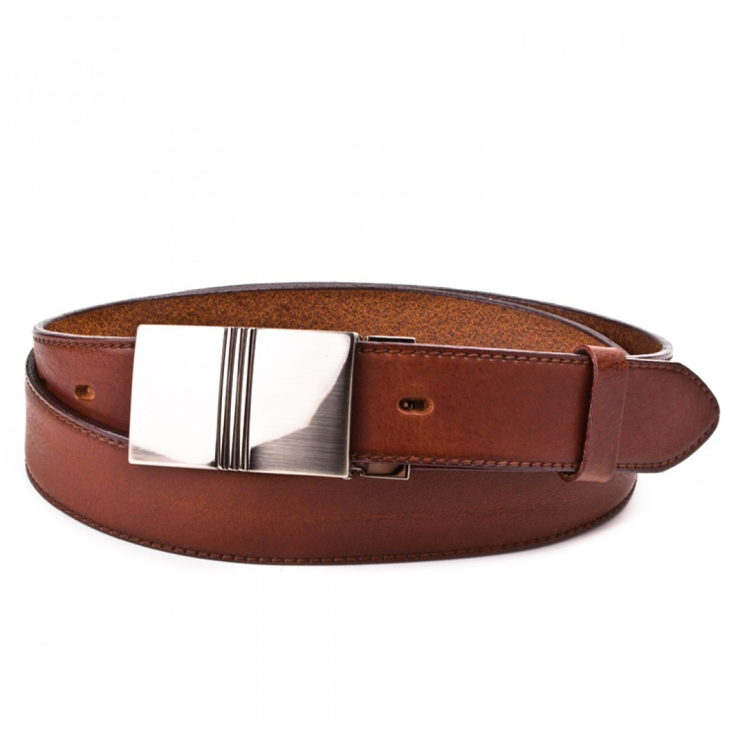 Leather belt ELEGANT men Optimist | 35-020-5PS