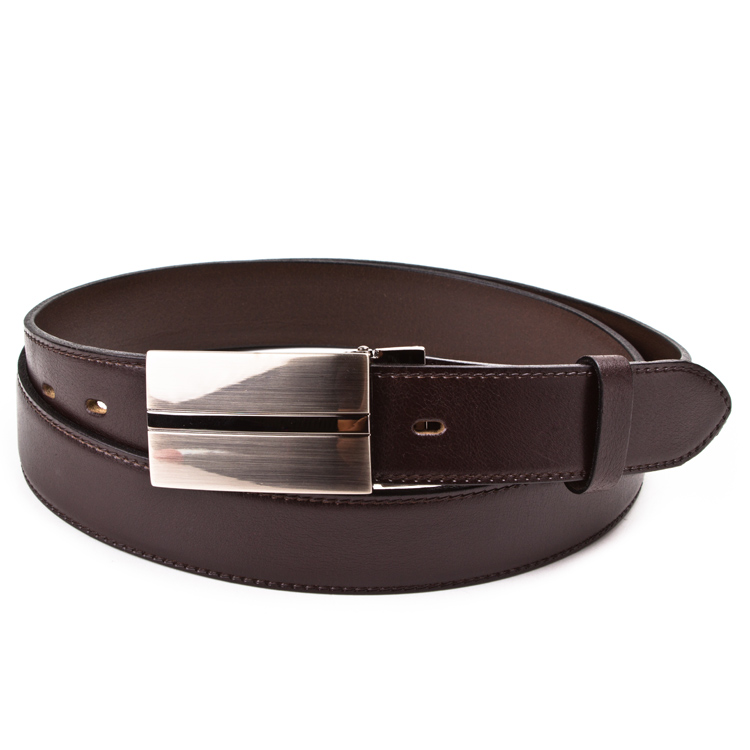 Leather belt ELEGANT men Optimist | 35-020-7PS