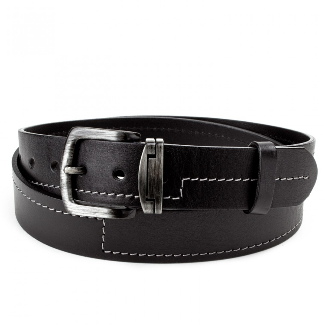 Leather belt JEANS Optimist | 40-09-04