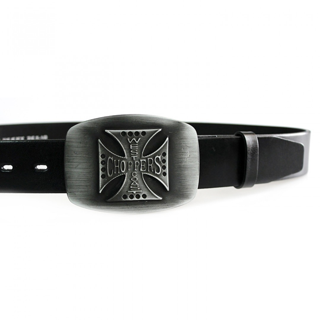 Leather belt CHOPPERS Optimist | 40-77
