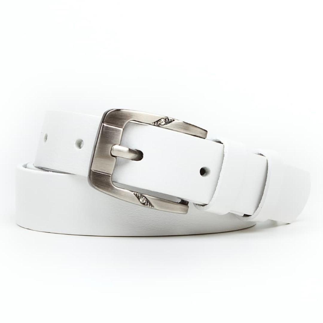Leather belt ELEGANT female Optimist | 25-172