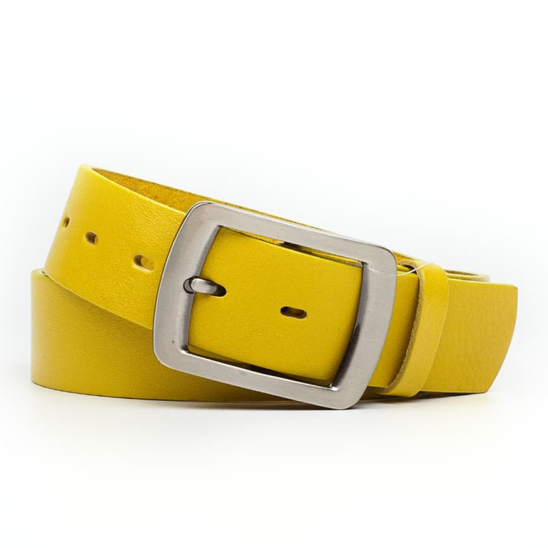 Leather belt JEANS female Optimist | 40-58